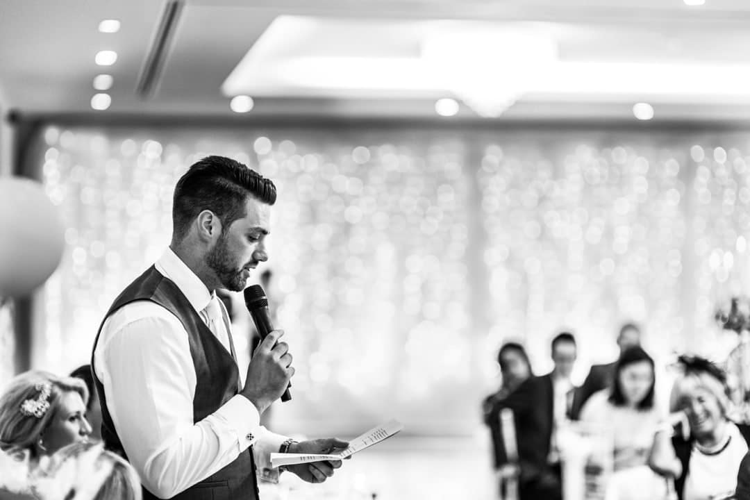 speeches at hensol castle wedding