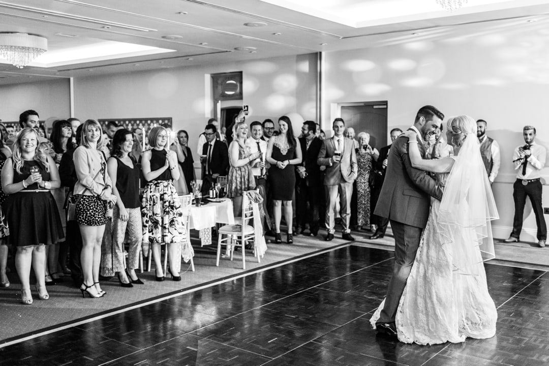 first dance at hensol castle wedding