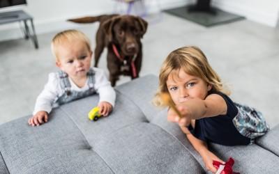 Children Portrait Photography – Eddie & Isabella