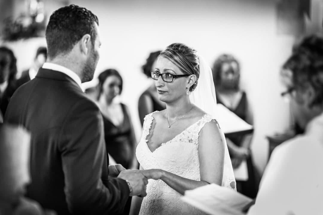 wedding ceremony at church inNew Quay, Ceredigion