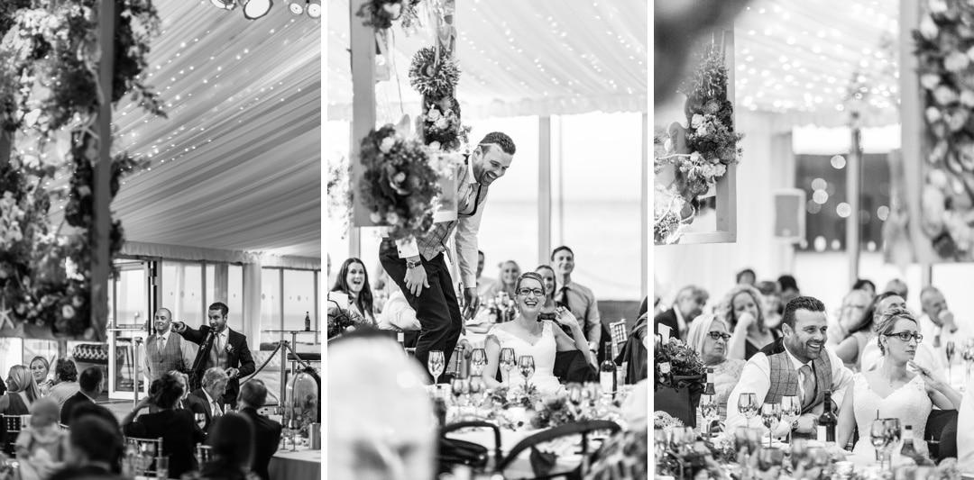 Wedding at New Quay, Ceredigion