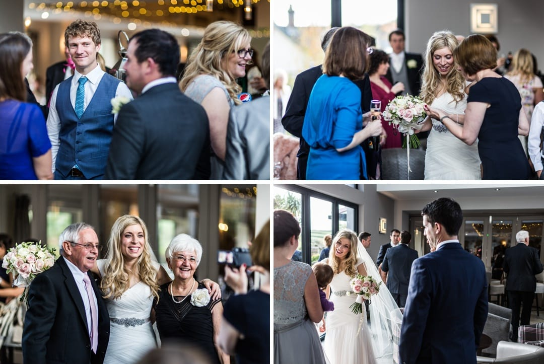 wedding reception at wolfcastle hotel