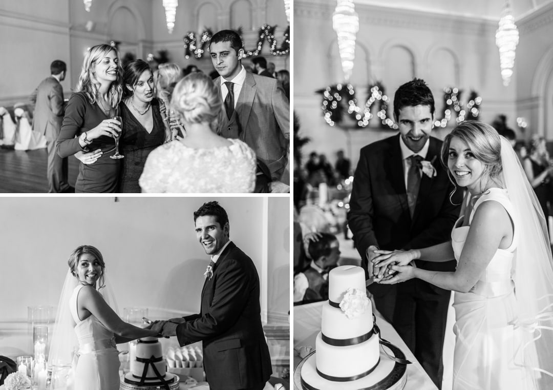 wedding photography from Angel Hotel in Abergavenny in South Wales