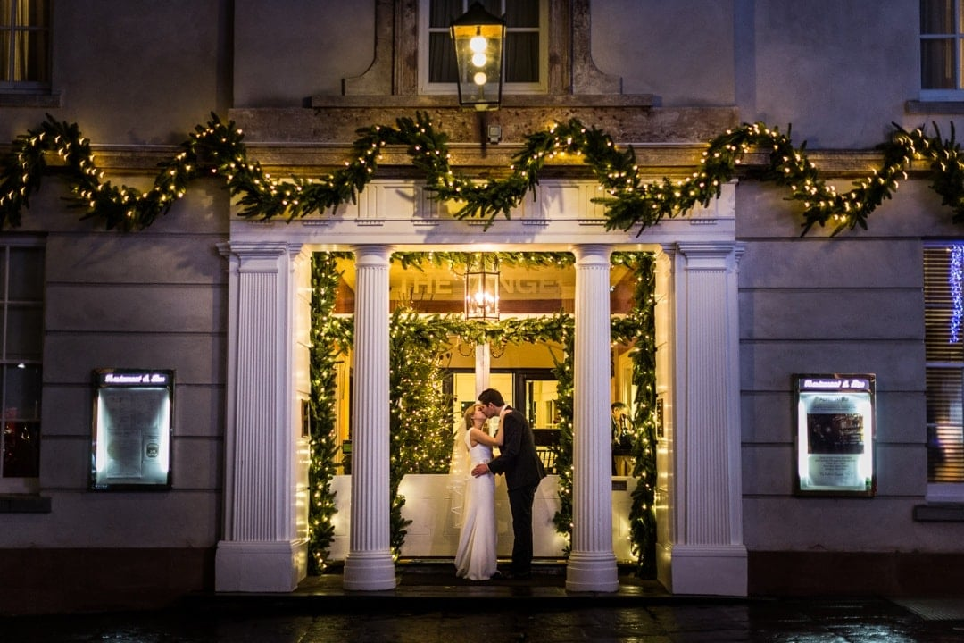 Abergavenny Angel Hotel Wedding Photography 1