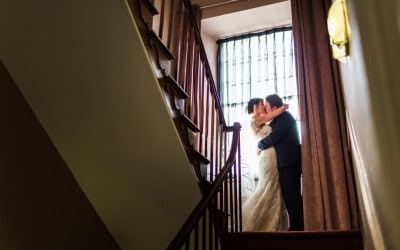 Winter Wedding at the Cawdor Hotel – Lowri & Adam