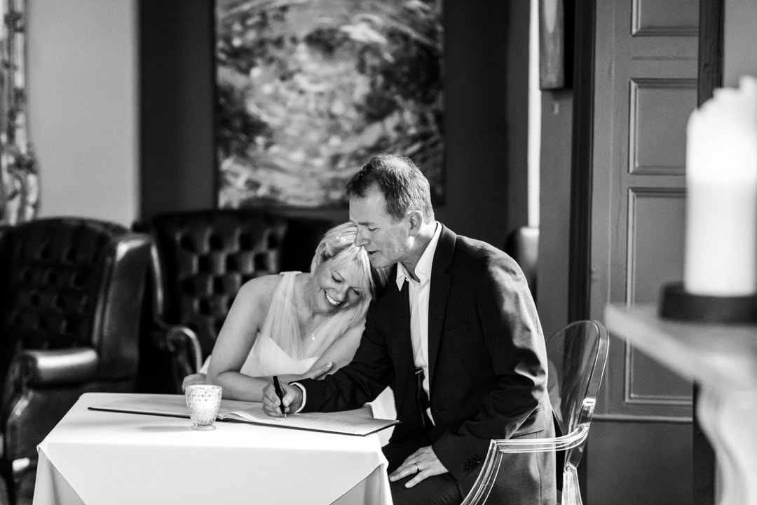 Wedding photography at Hammet House in West Wales