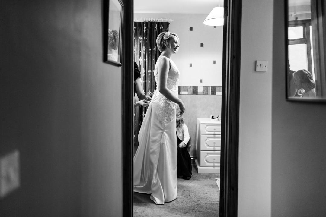 Wedding photography at Nanteos, West Wales