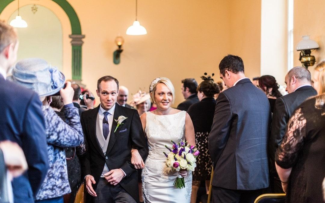 Winter Wedding at Nanteos – Lisa & Aled