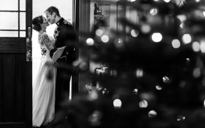Winter Wedding at King Arthur – Megan & David