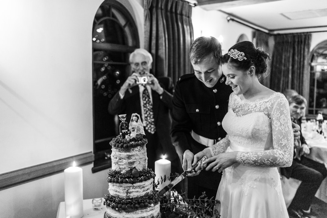 winter wedding speeches at king arthur hotel gower south wales