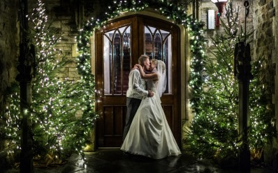 Winter Wedding at Miskin Manor – Ceri & Chris