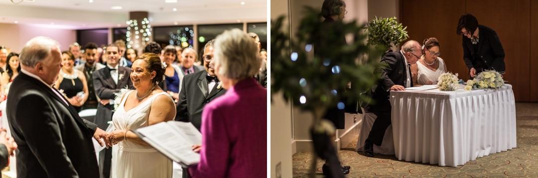 Christmas wedding in Cardiff