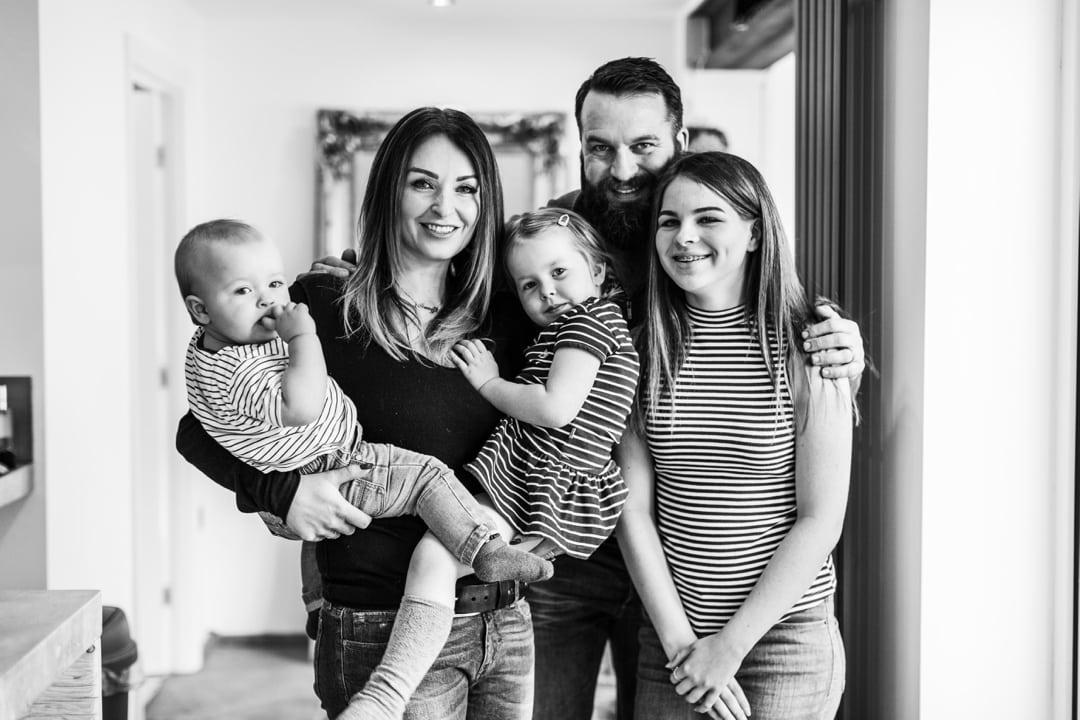 family photographic portrait