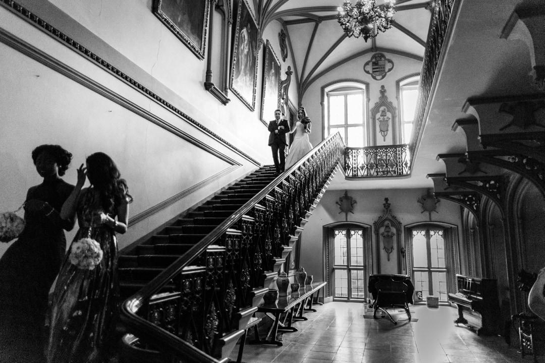 Belvoir Castle staircase