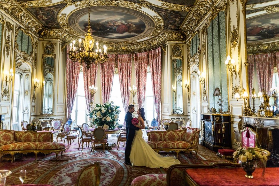 Elizabeth Saloon at Belvoir Castle