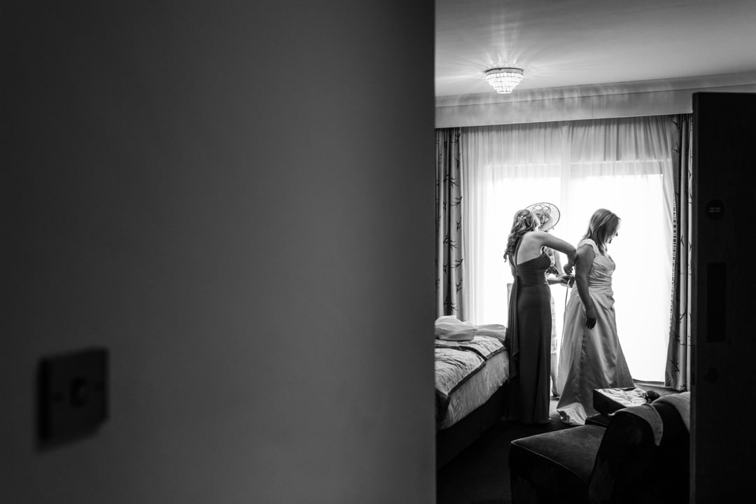 south wales wedding preparations