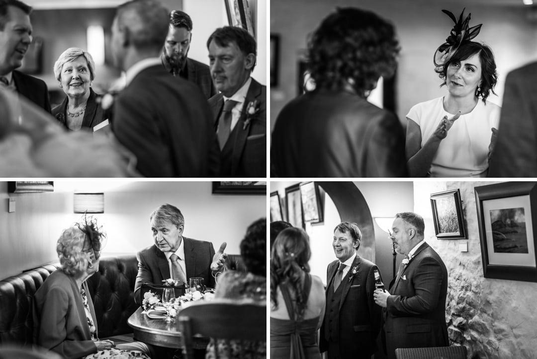 South Wales wedding reception at Llanerch Vineyard