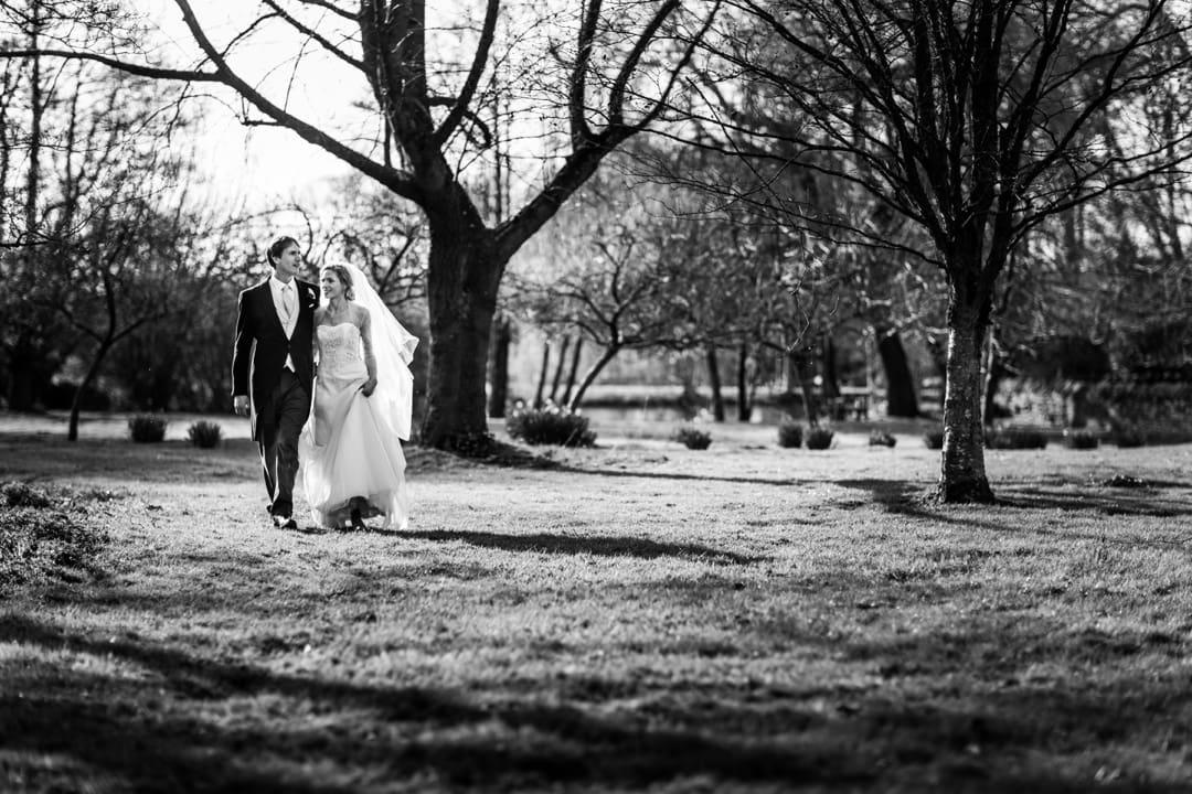 wedding reception at Dewsall Court