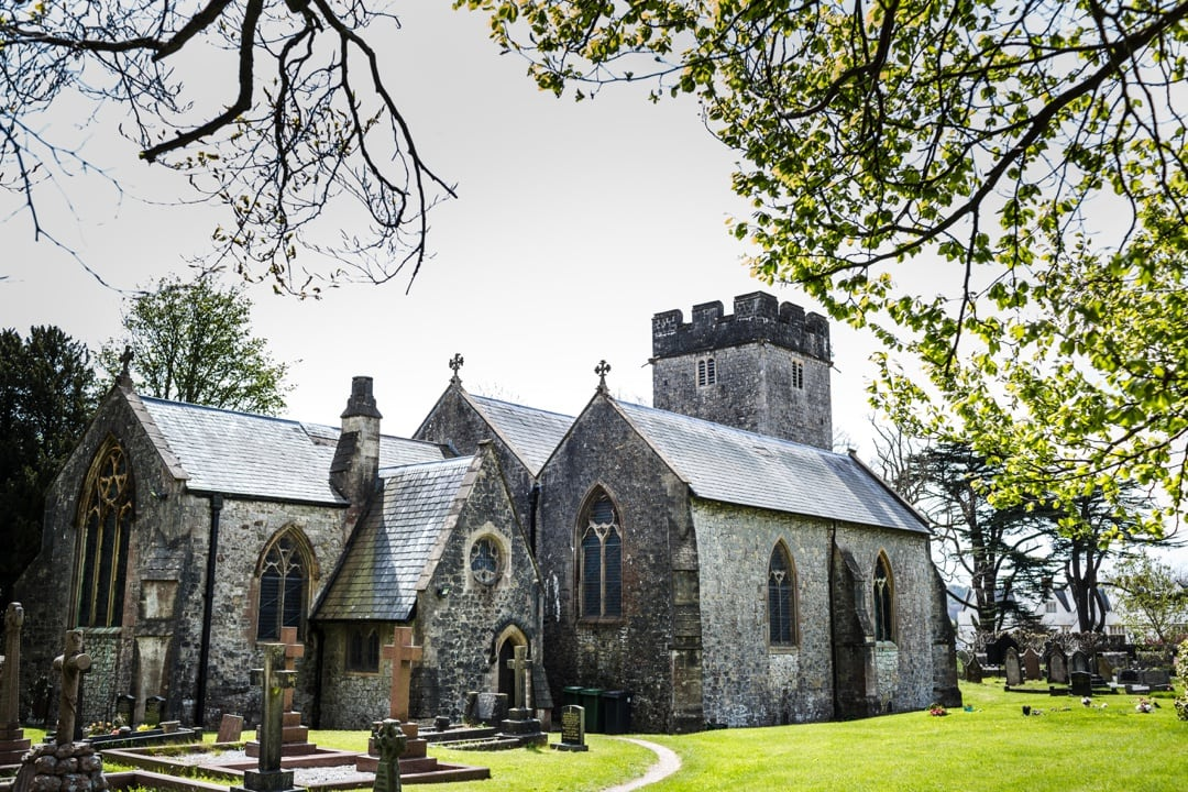 St Mary's Church in St Fagans, South Wales