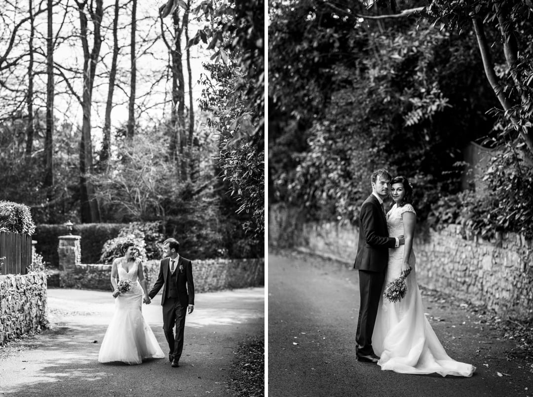 wedding portraits at Old Post House in St Fagans