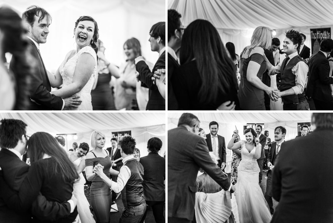 wedding reception at Old Post House in St Fagans