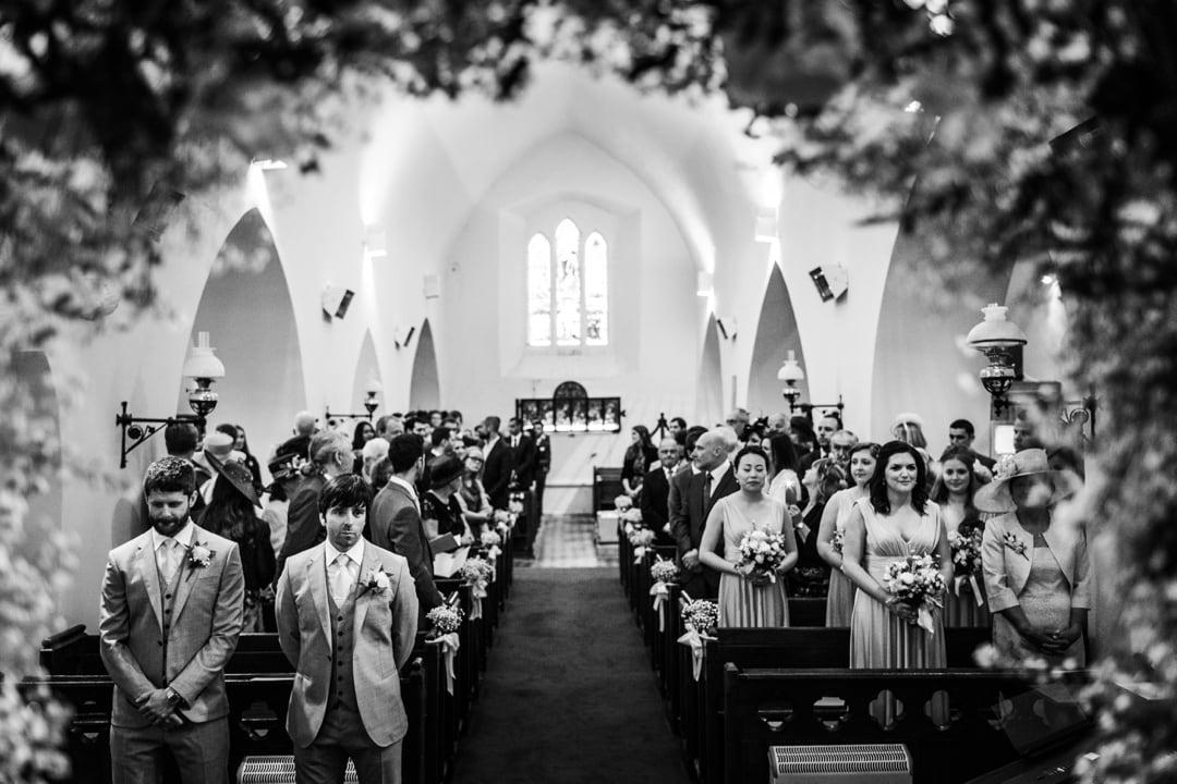 St James Church wedding ay Manorbier