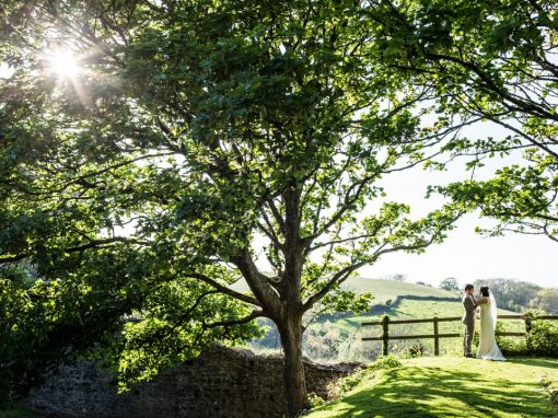 Manorbier Castle Wedding – Laura & Mark