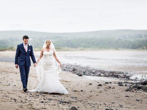 Wedding at Oxwich Bay Hotel – Becky & Tom