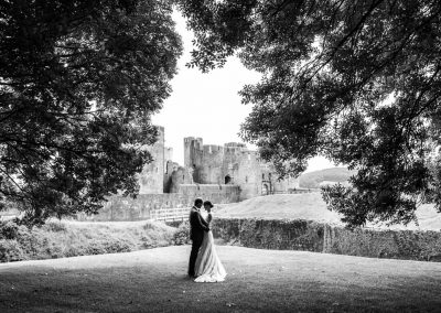 A Post Wedding Portrait Session At Caerphilly Castle