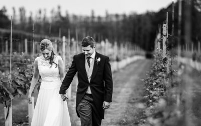 Llanerch Vineyard Wedding – Abigail & Owain