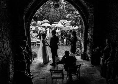 Wedding at Usk Castle – Katie & James