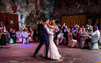 Caerphilly Castle Wedding – Kelly & Chris
