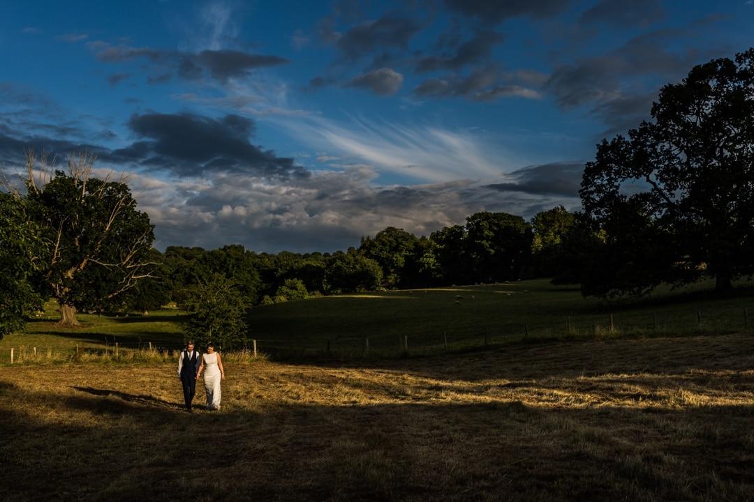 Llanvihangel Court Wedding in sunshine