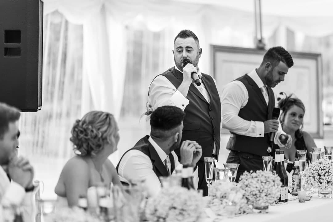 home wedding speeches in monmouthshire