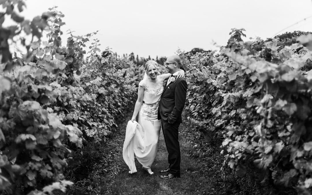 Llanerch Vineyard Wedding in South Wales – Bethan & Michael