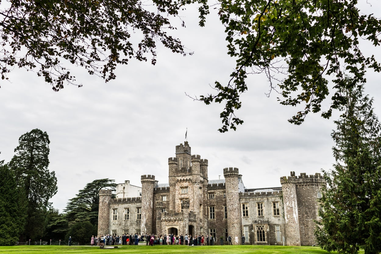 Hensol Castle in South Wales
