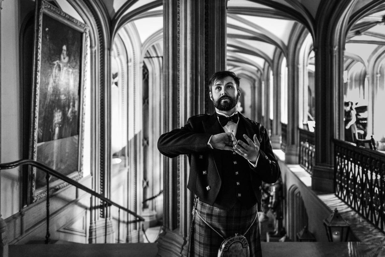 groom at Belvoir Castle