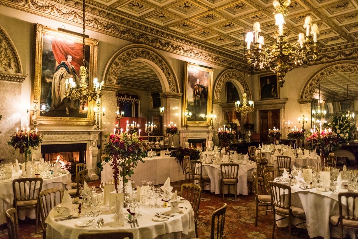 Dining Room at Belvoir Castle