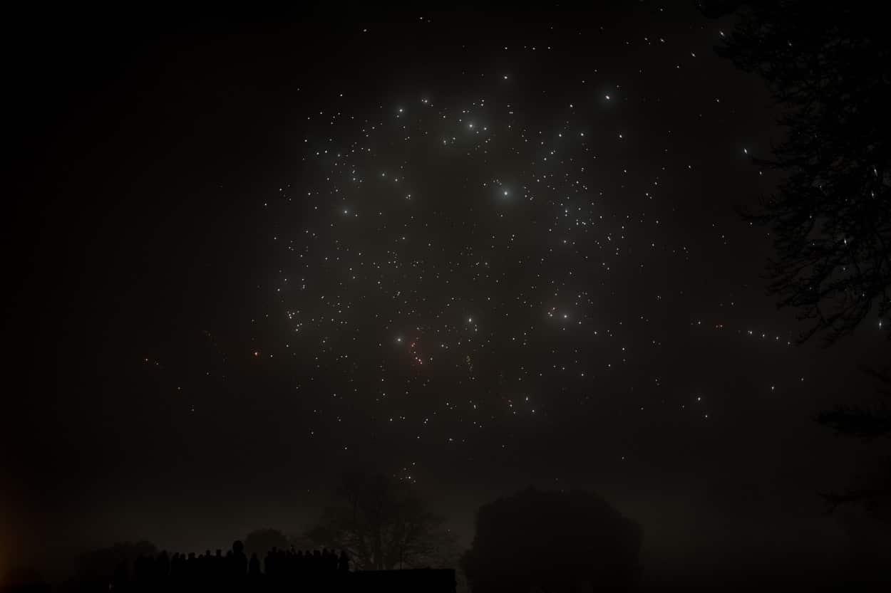 Fireworks at Belvoir Castle