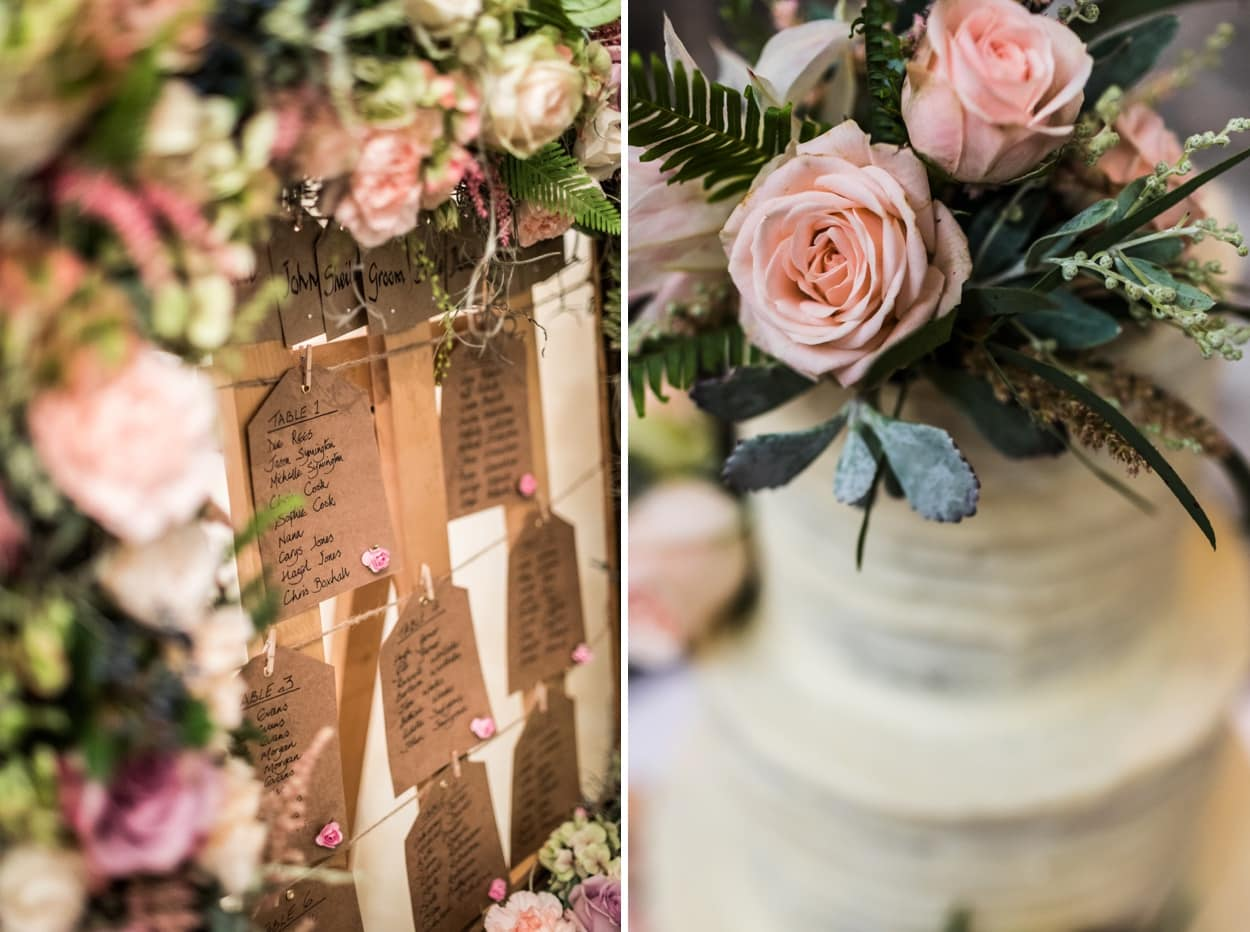 wedding day at miskin manor in south wales