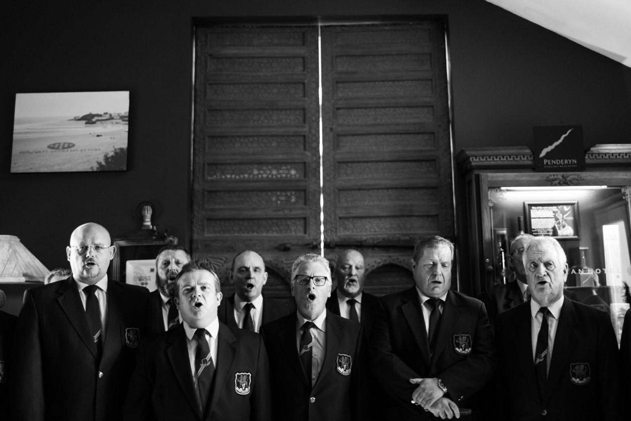 choir at The Corran