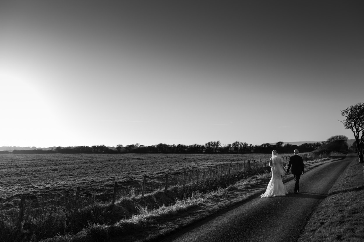 Bride and groom portraits at The Corran