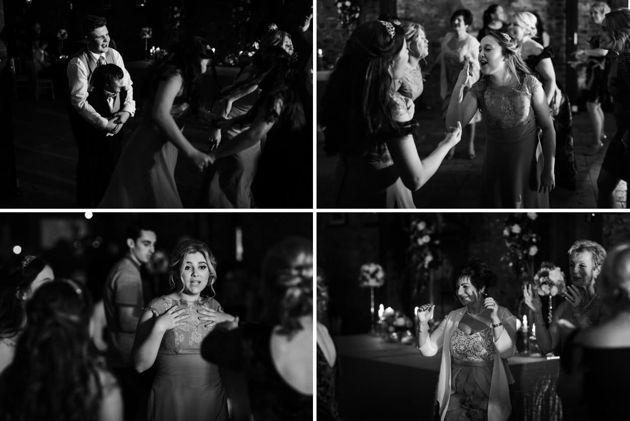 wedding dancing at The Corran
