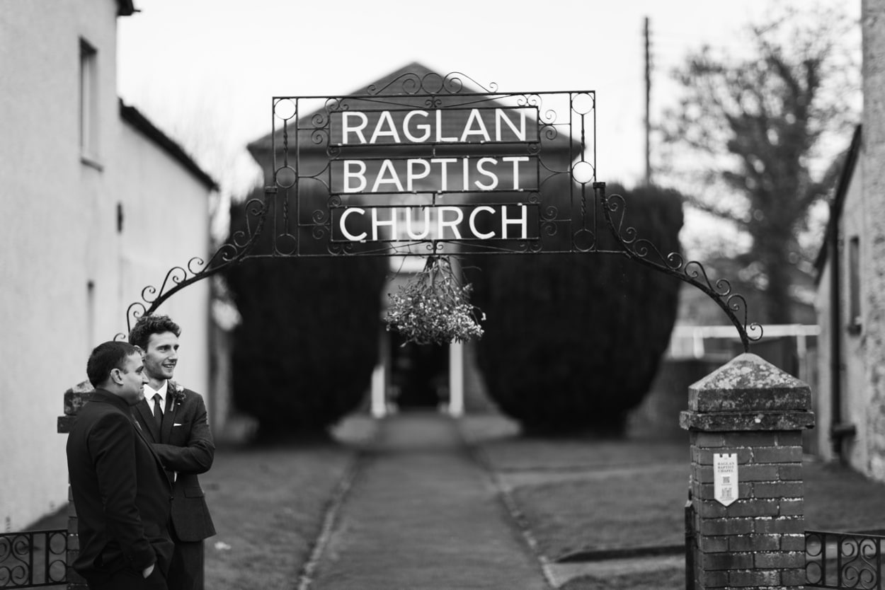 Wedding at Raglan Baptist Church