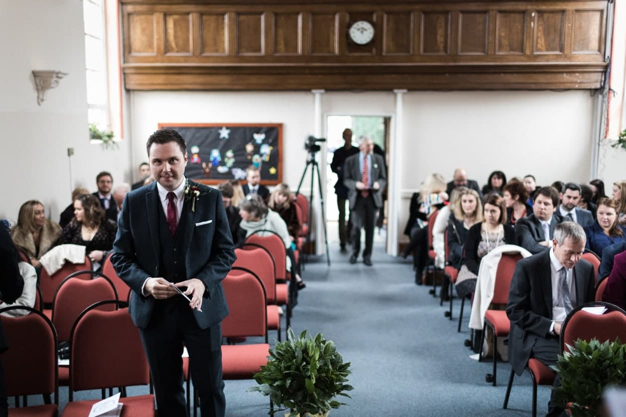 Wedding at Raglan Baptist Church