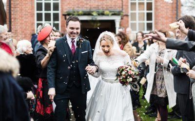 Wedding at Treowen – Becky & Steffan