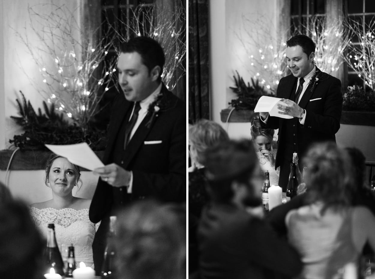 Treowen House wedding reception in Monmouthshire