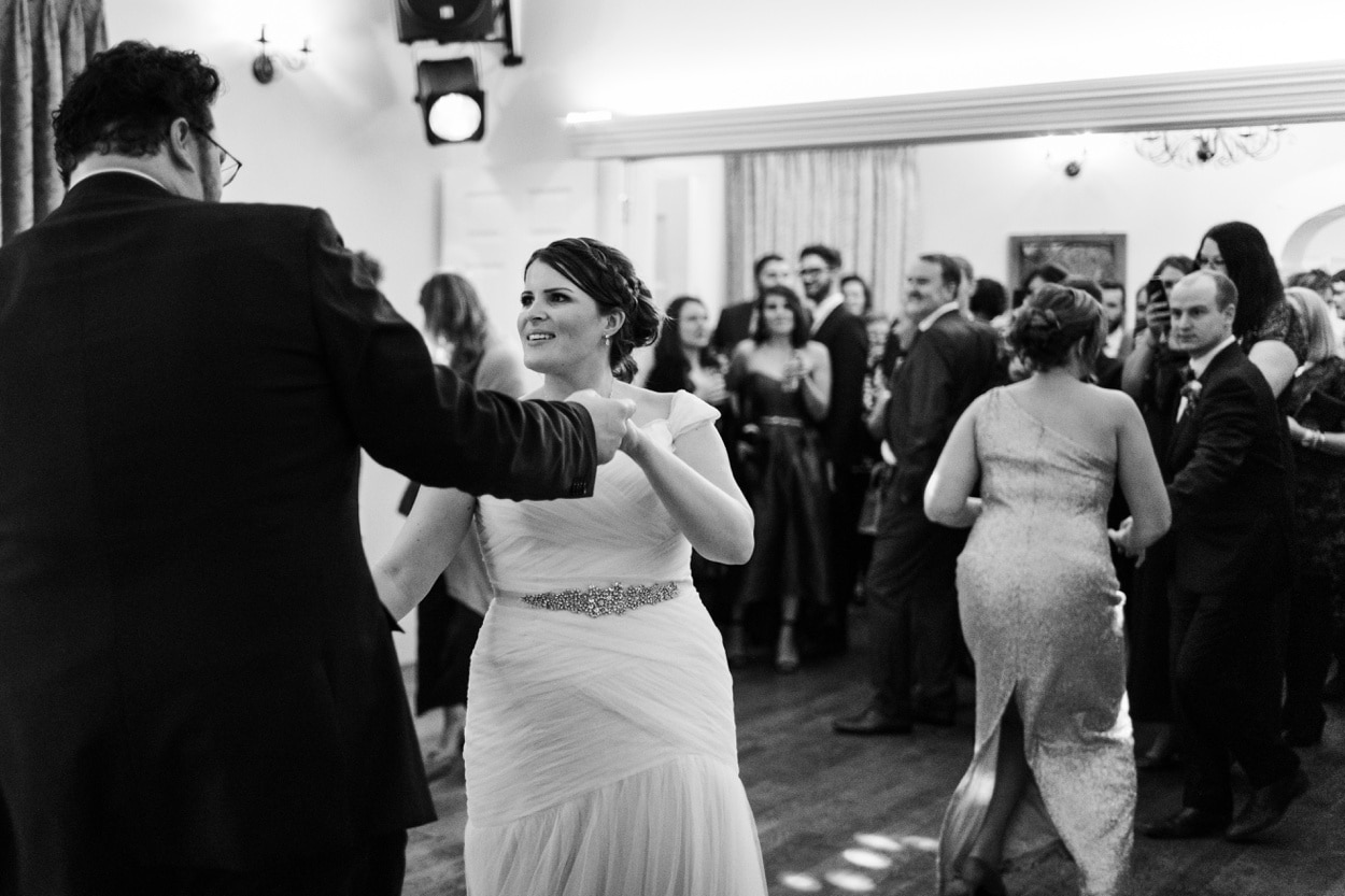 Wedding first dance Caer Llan in Monmoutshire