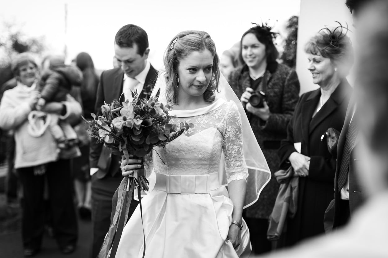 wedding day in west wales