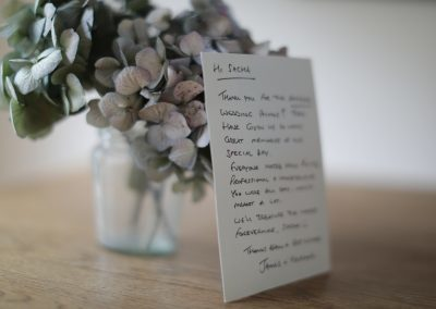 Client Comments to a South Wales Wedding Photographer
